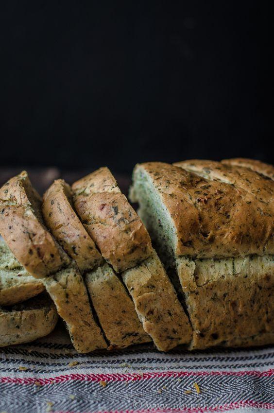 spinach bread: