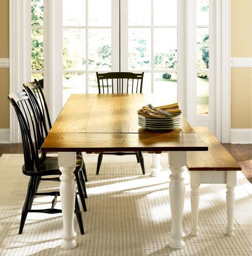 Classic Cottage Dining Table Dining Table In Kitchen Bungalow