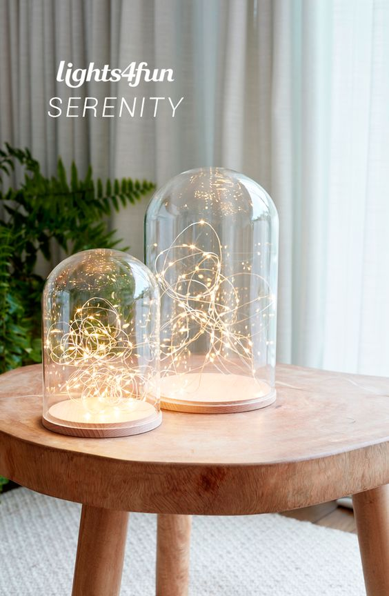 Taking inspiration from the elongated shapes and clean lines of this season's serene aesthetic, our glass dome duo is perfect for creating a peaceful and calming setting in your home.