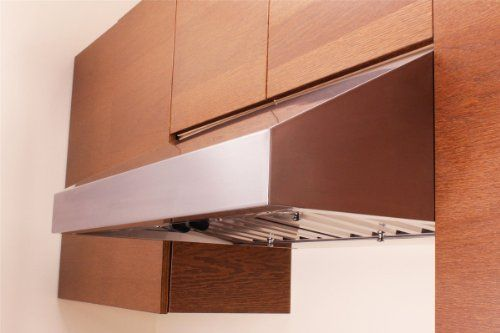 Hoods steel and cabinets on pinterest for Artemis kitchen designs