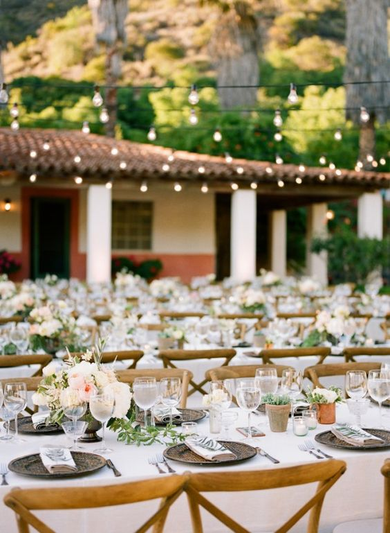 Outdoor Wedding Reception Receptions, Vineyard and Wedding