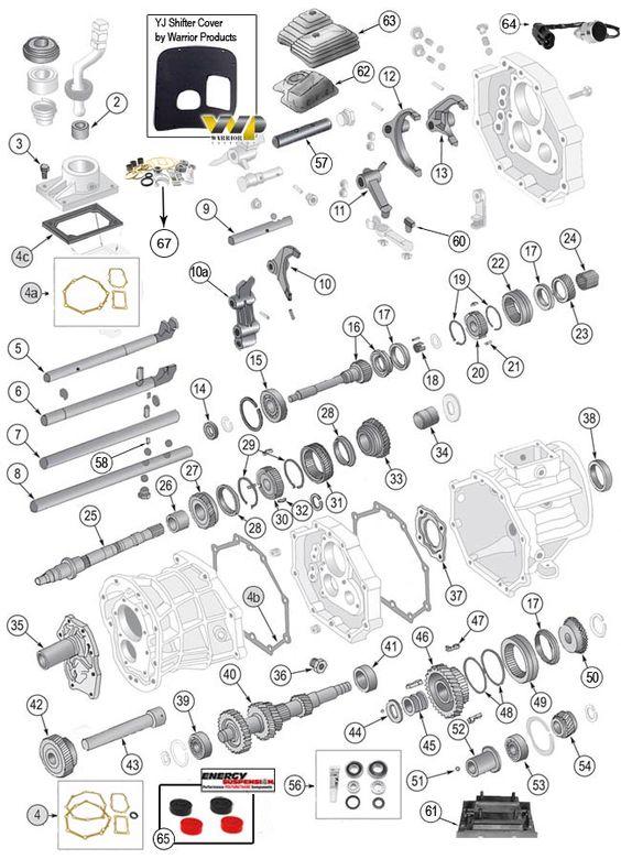 Aisin Ax4  U0026 Ax5 Transmission Parts At Morris4x4