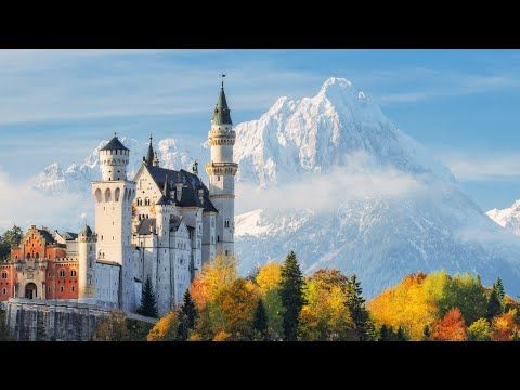 Peaceful Music Relaxing Music Instrumental Meditation Music Mountain Castles By Tim Janis Youtub Germany Castles Neuschwanstein Castle Beautiful Castles