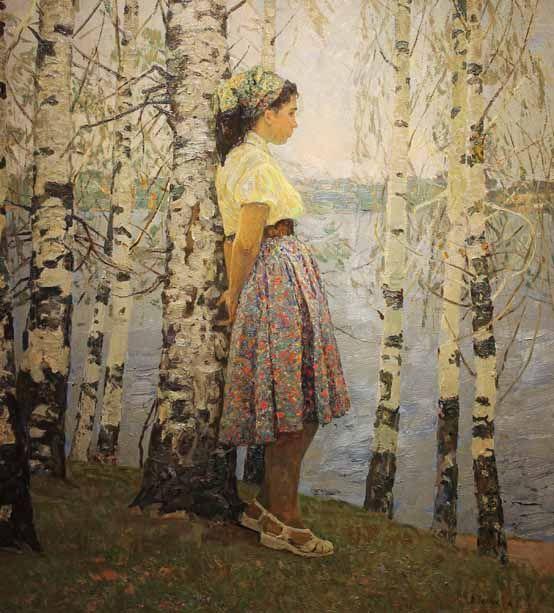 Belykh - Spring Beyond the Volga