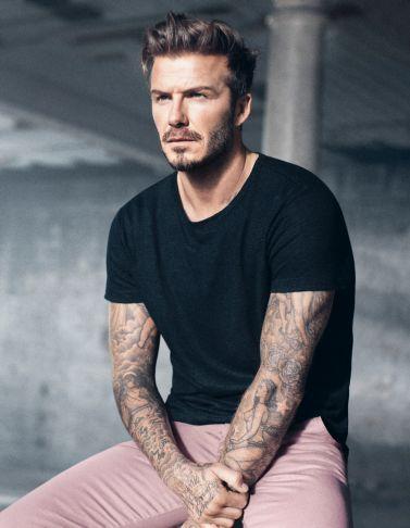 Une nouvelle collaboration David Beckham et H&M pour le printemps   Femina