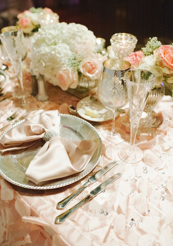 Stunning Florida Wedding with Romantic Pink Color Details from Shea Christine Photography