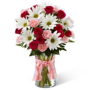The FTD® Sweet Surprises® Bouquet http://www.englewoodfloralshop.com/product/the-ftd-sweet-surprises-bouquet-2012/display: