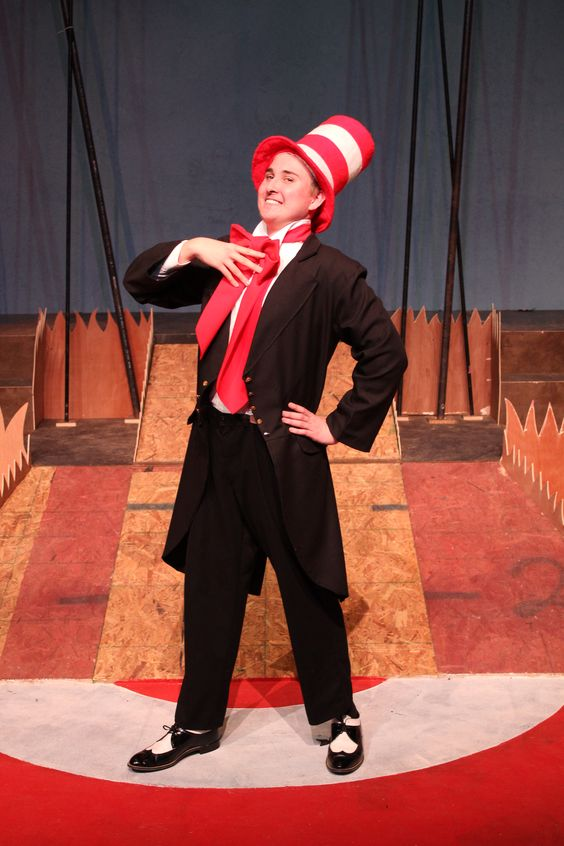 the cat in the hat costume seussical - Google Search