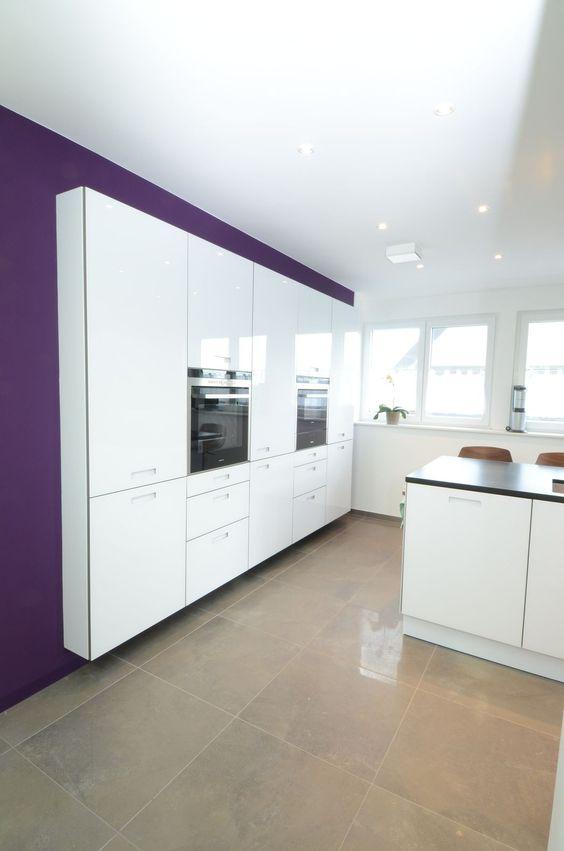 Kitchens \ Eat-In Kitchens moderne Küche Next 125 \/ Schüller 4 - moderne kuchen forster