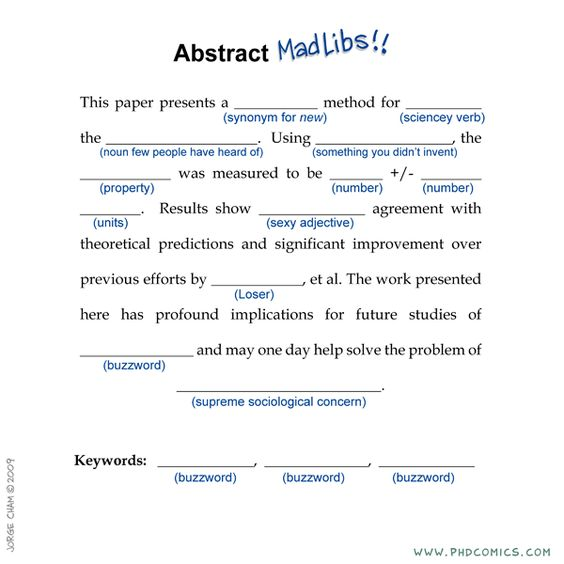 Might have the kids do this after they write their sci fair - writing an abstract for research paper