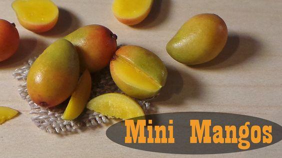 Juicy Mangos - Polymer Clay Miniature Food Tutorial