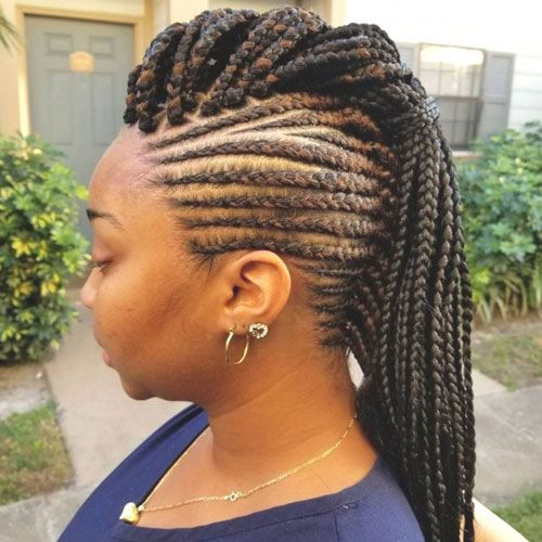 35 Best Black Braided Hairstyles For 2020 With Images Braids