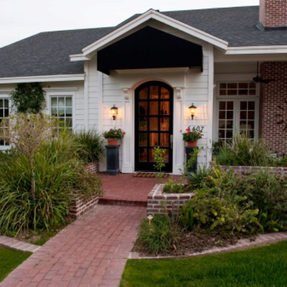 Love The Curb Appeal Garden Pinterest Front Yards