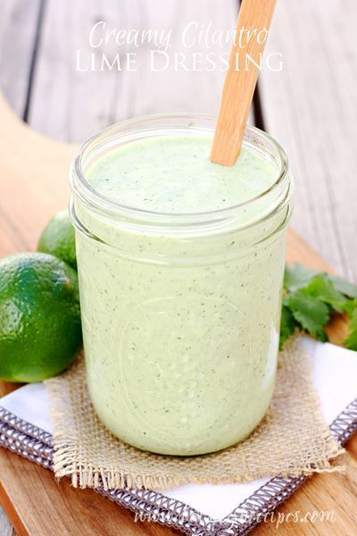 This Creamy Cilantro Lime Dressing is great on burritos and tacos or as dip for tortilla chips and veggies. Or you could just eat it with a spoon!