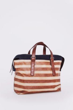 leather bag natural ++ dries van noten