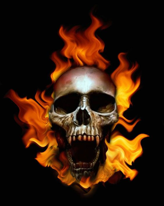 fire wallpaper hd - Google Search | SKULLS | Pinterest ...