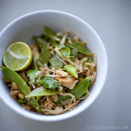 Veggie num num : Veggie Pad Thai (update): Pad Thai Recipes, Asian Recipes, Lime Juice, Thai Vegetarian, Thai Veggie, Vegan Pad Thai, Vegetarian Pad Thai, Birdies Recipes