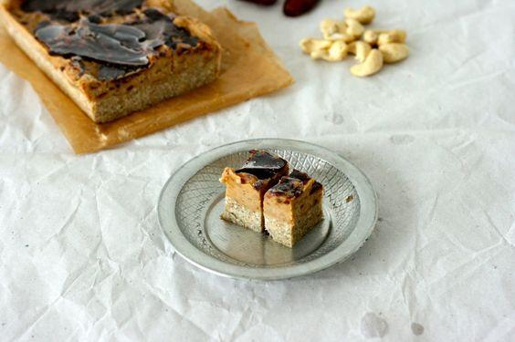 vegan, gesund und homemade Snickers