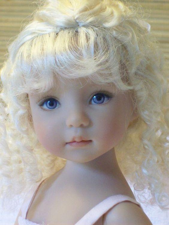 Dianna Effner Little Darling Dolls | Little Darling 1 et 2 moules de Dianna Effner, peinture Lana Dobbs ...: