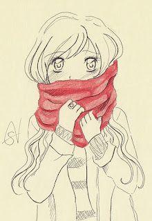 Winter time.  #sketch #moleskine