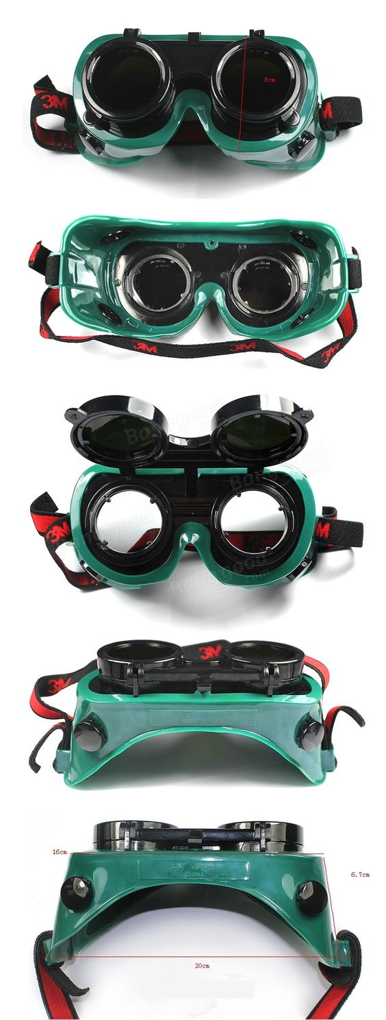 3M 10197 Anti-impact Welder Welding Labor Protective Goggles Safety Copper Tin Goggles Sale - Banggood.com