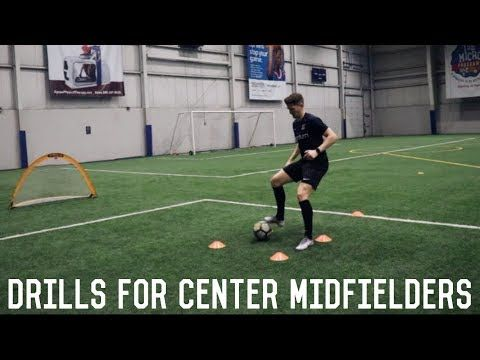 Training Drills For Central Midfielders The Essentials To Playing Central Midfield Youtube Soccer Training Drills Soccer Training Football Coaching Drills