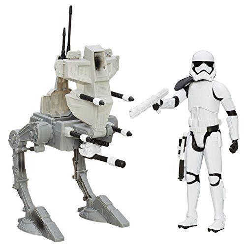 "Hasbro  B3919360  - Star Wars E7 12"" Ultimate Deluxe Figur mit Fahrzeug: Assault Walker"