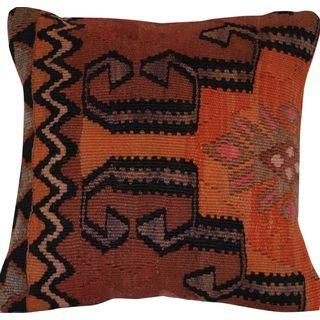 this vintage, handmade kilim pillow is a must have!