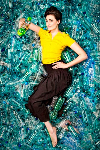 Vogue Green Blog - Erin O'Connor has teamed up with SodaStream to launch 'A World Without Bottles', a campaign to raise awareness of plastic bottle waste and its devastating effects on the environment. http://www.vogue.co.uk/blogs/the-green-style-blog/2011/04/19/erin-oconnor-and-sodastream-campiagn