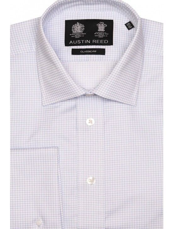 Austin Reed Light Blue White Grid Check Shirt Td087 Ee 16 Fashion Clothing Shoes Accessories Mensclothing Shirts E Shirts Grid Check Shirt Check Shirt