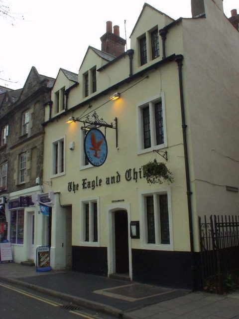 The Eagle and Child is a pub in Oxford which is best known for its two most famous members J. R. R. Tolkien and C. S. Lewis
