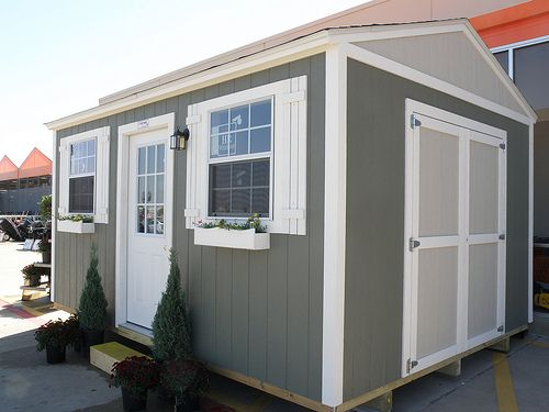 tuff shed storage sheds installed garages recreation buildings offered at the home depot creative spaces pinterest storage tiny houses and house