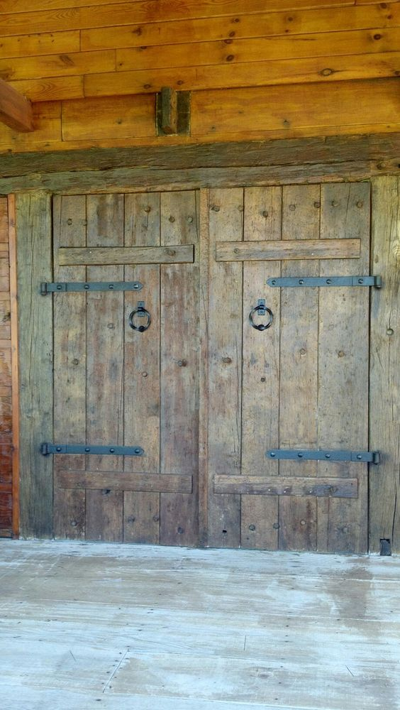 Rustic Barn Doors Rustic Barn And Barn Doors On Pinterest