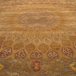 @Overstock - Primary materials: Wool    Pile height: 0.5 inches   Style: Traditional   http://www.overstock.com/Home-Garden/Hand-tufted-Wool-Gombad-Rug-76-x-96/6226249/product.html?CID=214117 $289.84