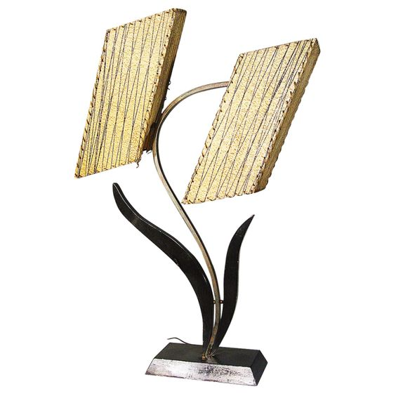 Googie Blossom Table Lamp | From a unique collection of antique and modern table lamps at https://www.1stdibs.com/furniture/lighting/table-lamps/