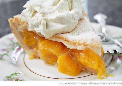 ... pie crusts peach pies beans cas homemade vanilla ice peaches vanilla