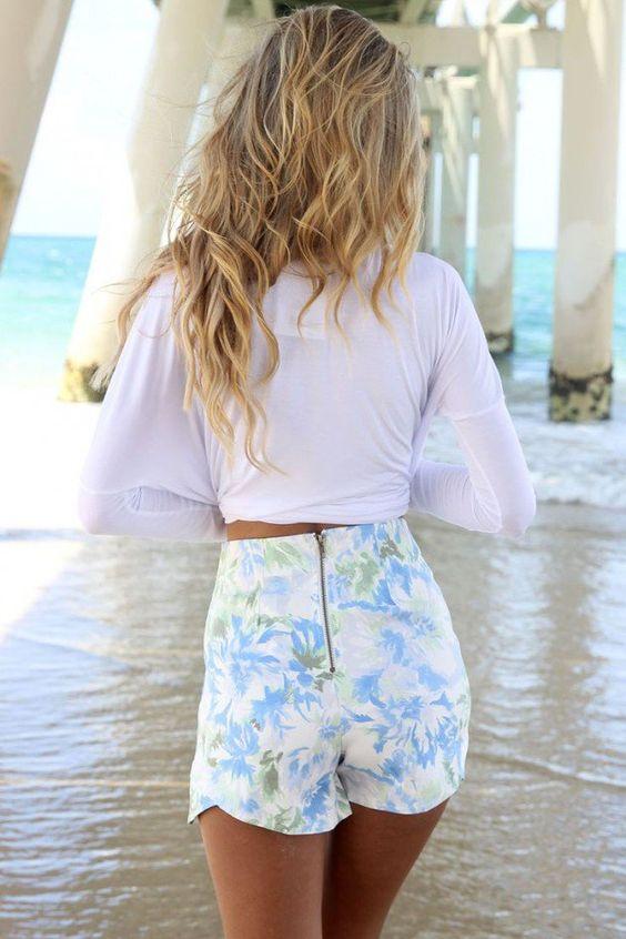 Los mejores outfits de pantalones cortos | Belleza y Moda