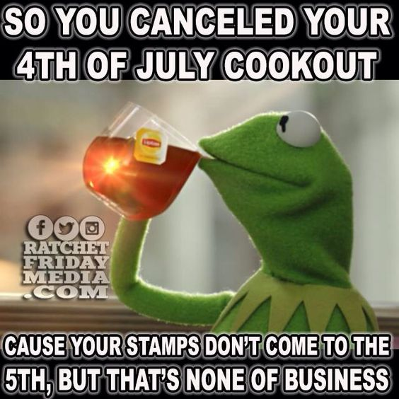 4th of July/Kermit the Frog