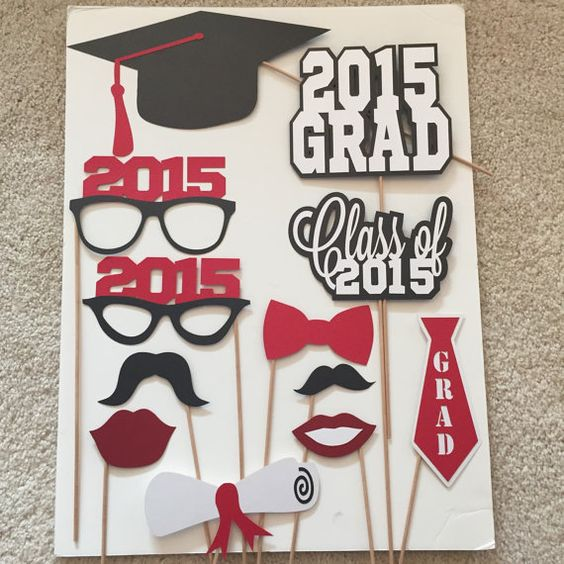 Hey, I found this really awesome Etsy listing at https://www.etsy.com/listing/220691544/graduation-photo-booth-props-set-of-12