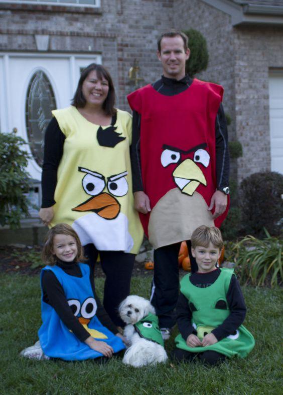 angry bird family