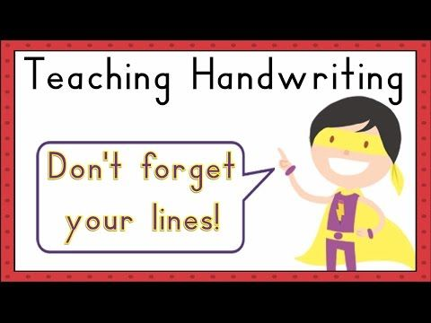 Best Teaching Handwriting Images On   Teaching