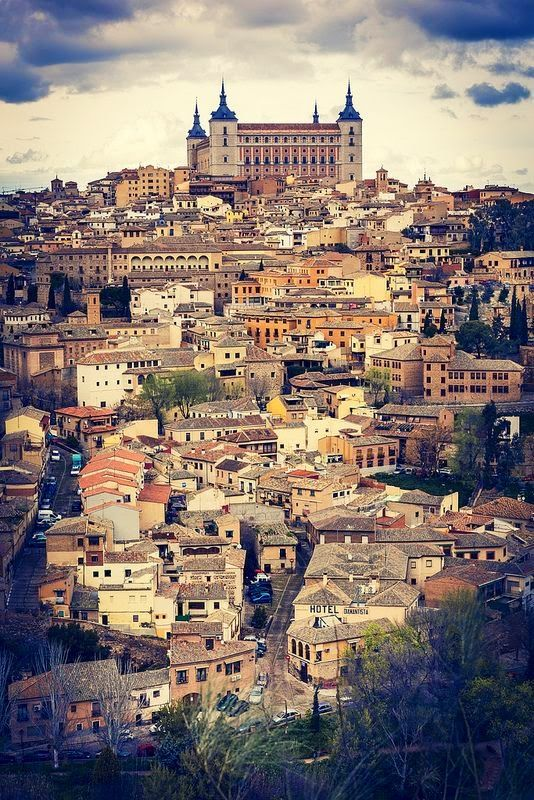Toledo Spain And Most Beautiful Places On Pinterest