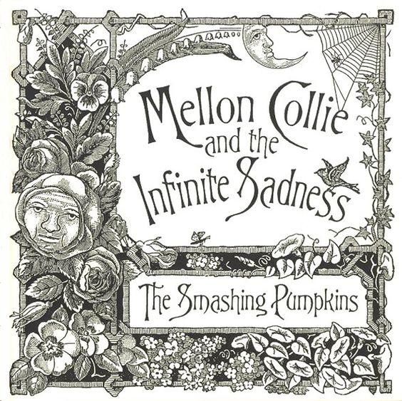 John Craig, illustration for The Smashing Pumpkins, Mellon Collie and the Infinite Sadness, 1995.