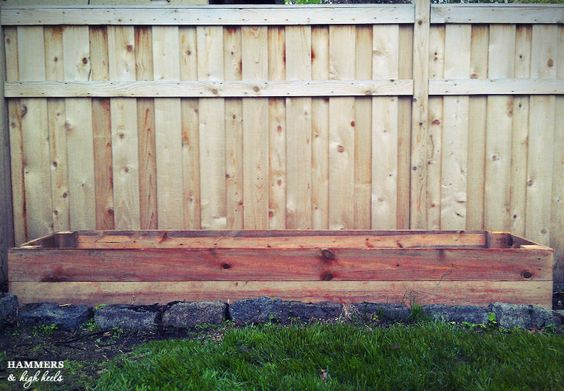 Hammers and High Heels: Memorial Day Mini Project- DIY Raised Garden Beds!