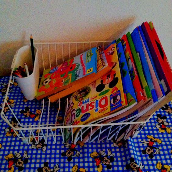 Diy Coloring Book Carrier Thestout