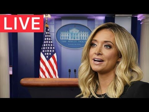 Live White House Urgent Press Briefing With Press Secretary Kayleigh Mcenany Youtube In 2020 Kayleigh Mcenany White House Social Media Help