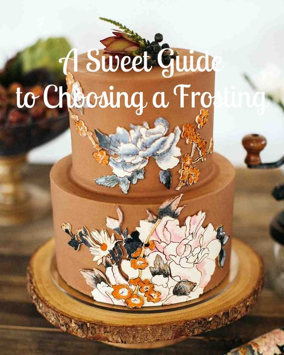 it types of frosting most popular wedding cake frosting martha stewart