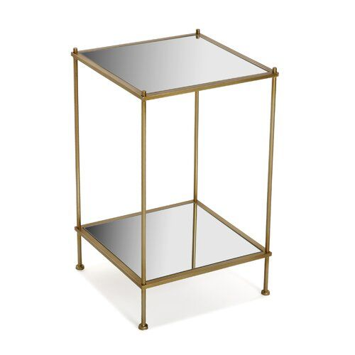 Clevenger Mesa Auxiliar Cuadrada Side Table Mercer41 Furniture Side Table With Storage Furniture Shop