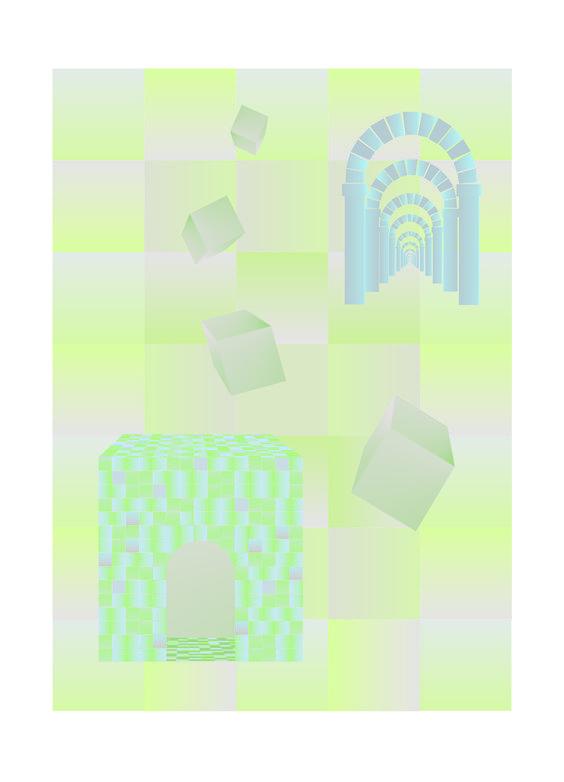 Dreams (art print on paper) Ligia de Medeiros, 2016