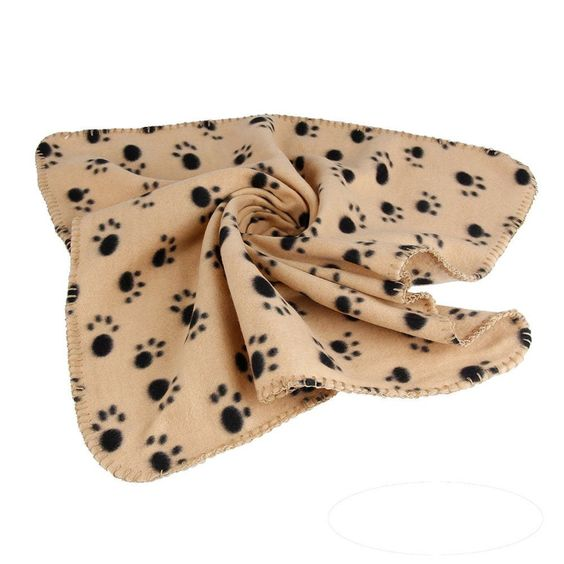 EFINNY cat Accessories Puppy Dog Blanket cat Cat Cushion Bed Soft Warm Sleep Mat * Additional info  : Cat Beds and Furniture